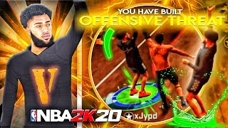 BEST GUARD BUILD IN NBA 2K20! OFFENSIVE THREAT BUILD! 60+ BADGE DEMIGOD BUILD IN 2K20!