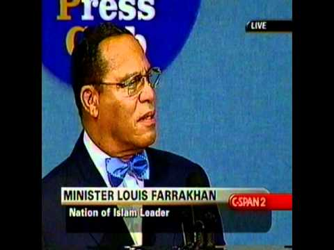 Louis Farrakhan National Press Club 001