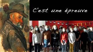 Cézanne peint France Gall Chorale du collège Louis Pergaud