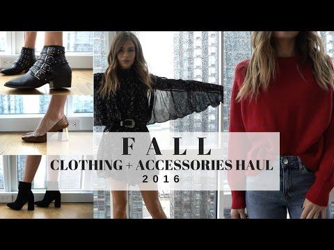 Fall 2016 Clothing Haul & Try On + ZARA + H&M + ALDO + Forever 21