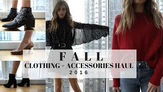 Fall 2016 Clothing Haul & Try On + ZARA + H&M + ALDO + Forever 21