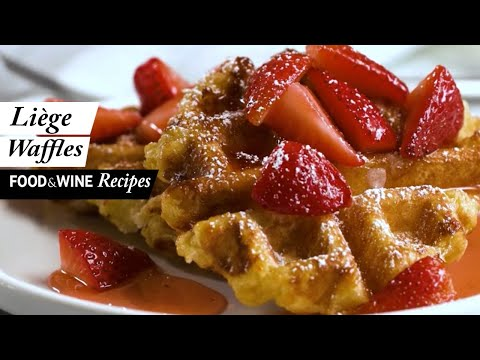 Liège Belgian Waffles | Food & Wine Recipes