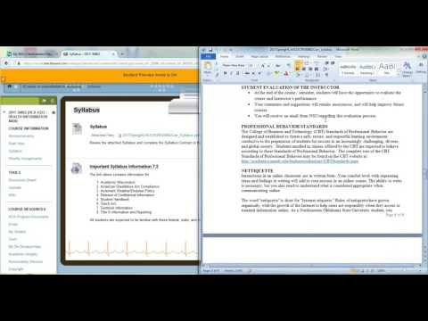 HCA4323 Health Information Management Introduction and Syllabus Tour