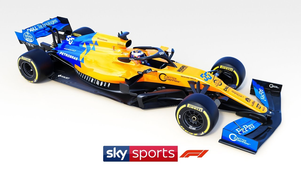 exclusive: mclaren launch 2019 mcl-34 f1 car! - youtube