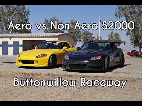 Differences between Aero and Non-Aero S2000 (Buttonwillow Track Battle)
