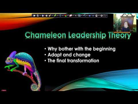 Chameleon Leadership Theory   2nd Year Residency Video