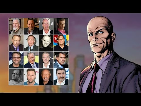 Comparing The Voices - Lex Luthor (Updated)