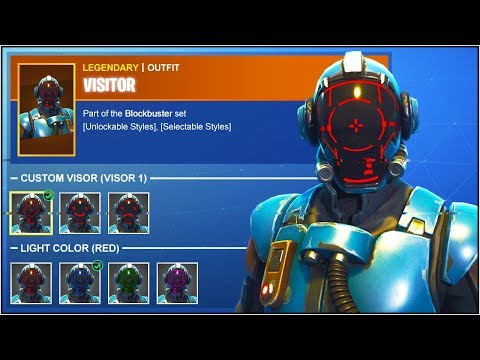 how to get the visitor skin
