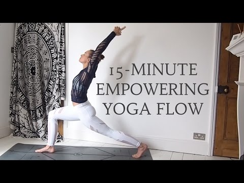15-MINUTE EMPOWERING YOGA FLOW | Energy & Strength | CAT MEFFAN