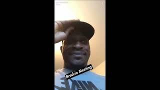 Stevo The Madman - Nige Doing The Hot Chilli Challenge Snapchat