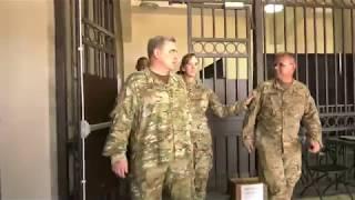 vuclip General Mark Milley visits Humacao Hospital