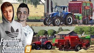 Farming Simulator 19☆ Budowa stodoły, Żniwa & Zbieranie słomy!☆Sąsiedzkie Zmagania #4 ✔