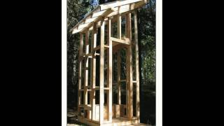 Time-lapse Movie Of The Construction Of My Outhouse In Fairbanks Alaska