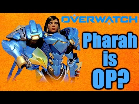 Overwatch - Pharah Best Competitive Character? Crazy Potential (Overwatch Pharah Gameplay)