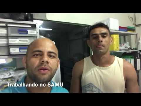 TRABALHANDO NO SAMU
