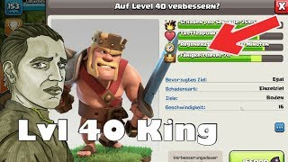 RATHAUS 10 KING ENDLICH LVL 40 ! - CLASH OF CLANS