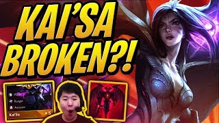 KAI'SA IS THE MOST BROKEN TFT CHAMPION EVER?! | Teamfight Tactics | TFT | LoL Auto Chess