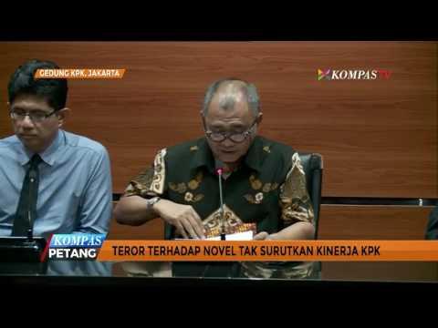 Teror kepada Novel Tak Surutkan Kinerja KPK