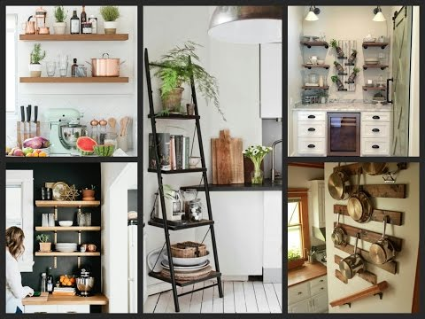 Open Shelving Kitchen Ideas - Kitchen Interior Designs Inspiration
