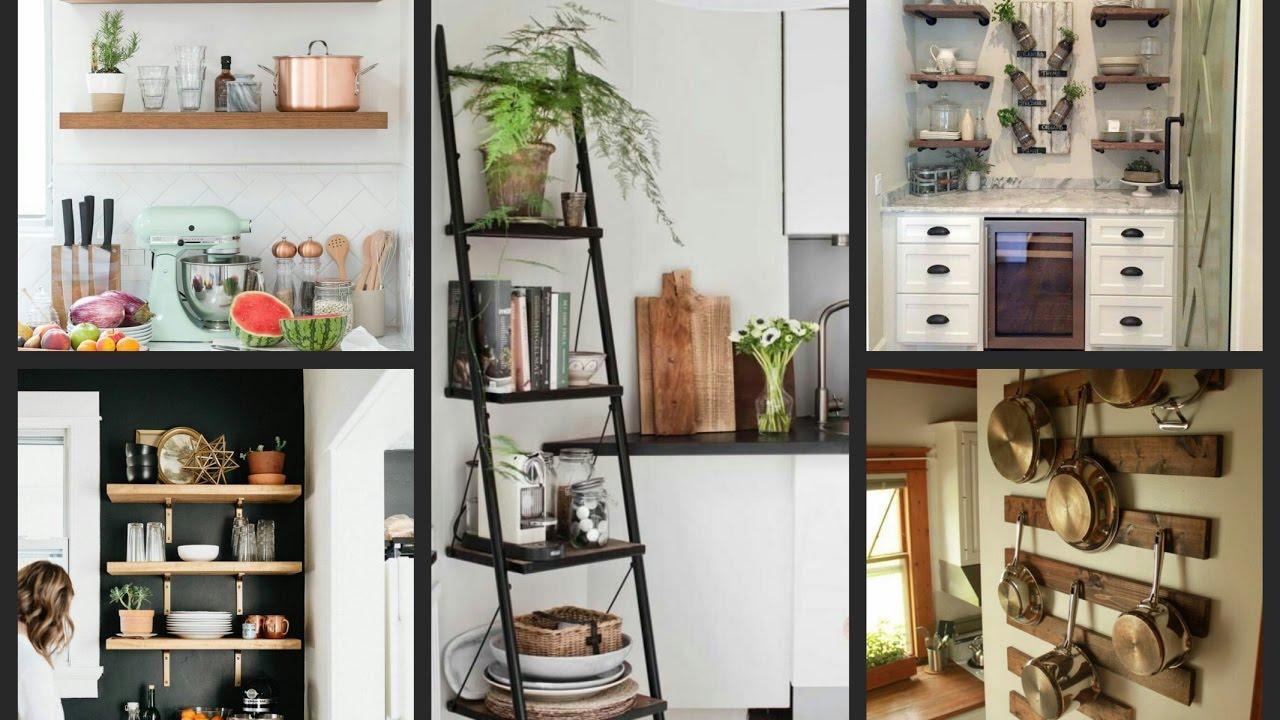 Open Shelving Kitchen Ideas - Kitchen Interior Designs ...