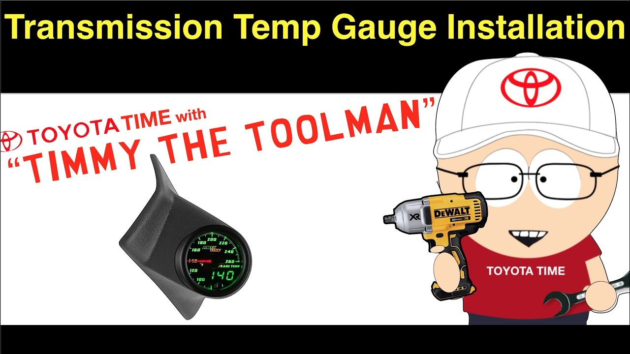 small resolution of  transmission temperature gauge installation youtube on 5r55w diagram torque converter diagram 4l80e diagram