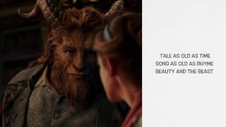 Gambar cover Beauty And The Beast  - Ariana Grande &  John Legend (Official Video Lyrics)