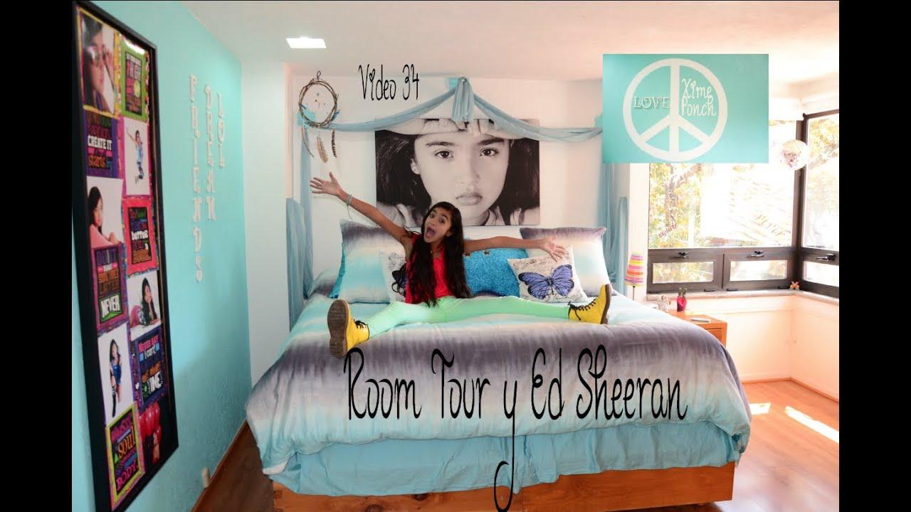 Cuarto De Xime Ponch Of Room Tour Y En Las Noticias Ed Sheeran Video 34 Xime