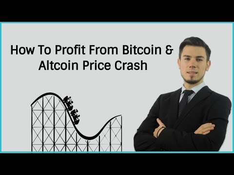 How To Profit From Bitcoin & Altcoin Price Crash