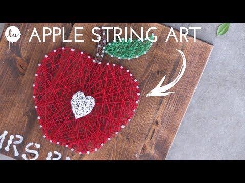 DIY Teachers Gift | teachers gift ideas | Apple DIY | OUT OF RECYCLED WOOD