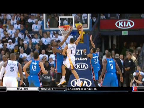 9cae3e7b9722 Klay Thompson Dunks on Kevin Durant - YouTube