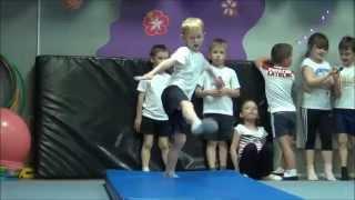 Детская спортивная акробатика. Открытое занятие /27.05.2015г./