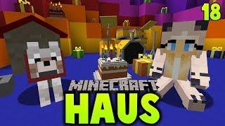 WIR BEKOMMEN VIELE TOLLE GESCHENKE!! ✿ Minecraft HAUS #18