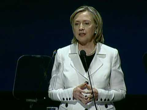 Secretary Clinton Delivers Remarks at 10th Anniversary of the Community of Democracies