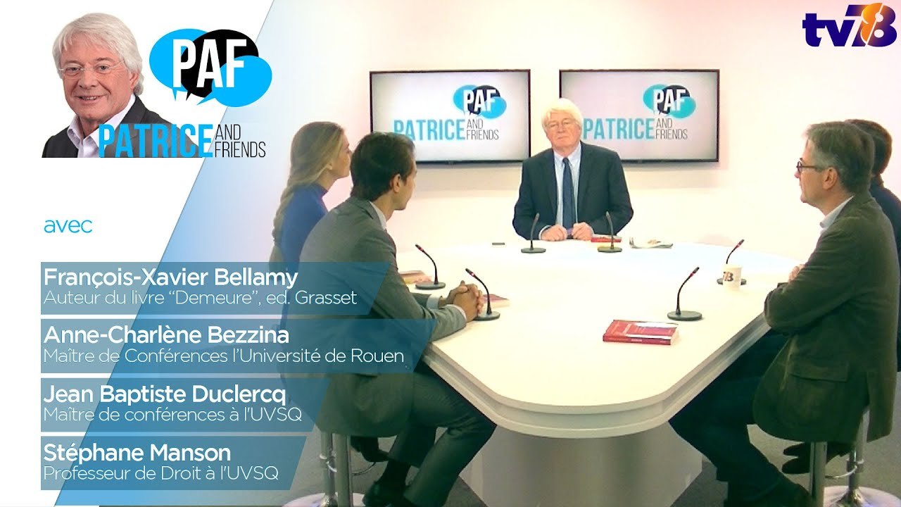 PAF – Patrice and Friends – Emission du 24 octobre 2018