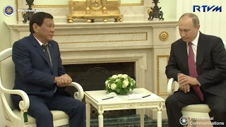 Duterte on Putin: We have a lot in common