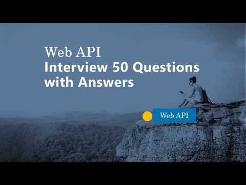 Web API Interview Questions with Answers