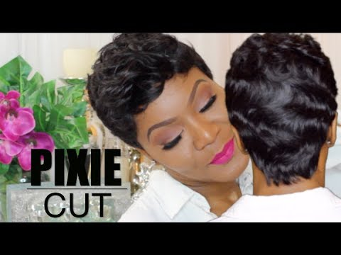 black hair finger wave styles pin curls amp fingerwaves on pixie wig sensationnel bump 5064