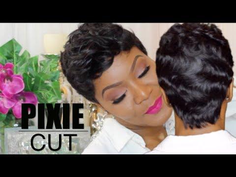 pin curls & fingerwaves pixie