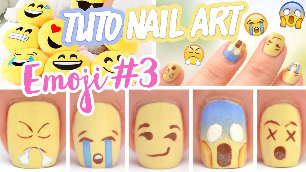 - Nail Art ♡ Emoji #3 - YouTube