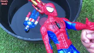 Learn Avengers Superhero Characters | Fun Learning for Toddlers | Avengers Pool Party