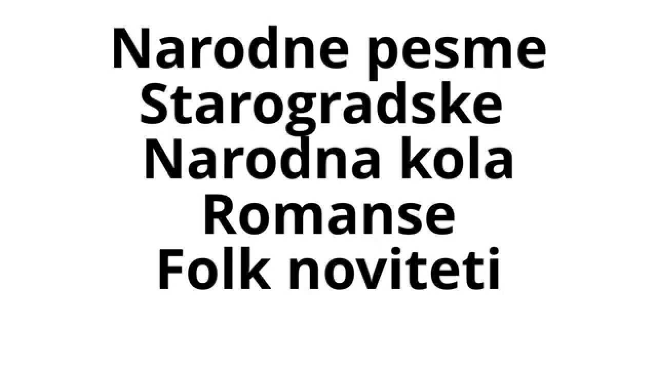 Note Za Harmoniku