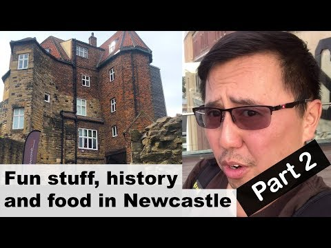 WHAT TO DO In #Newcastle. Medieval History, Food And Culture Tour 🤓 Vlog Part2