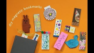 DIY Magnetic Bookmarks - So Easy to Make!