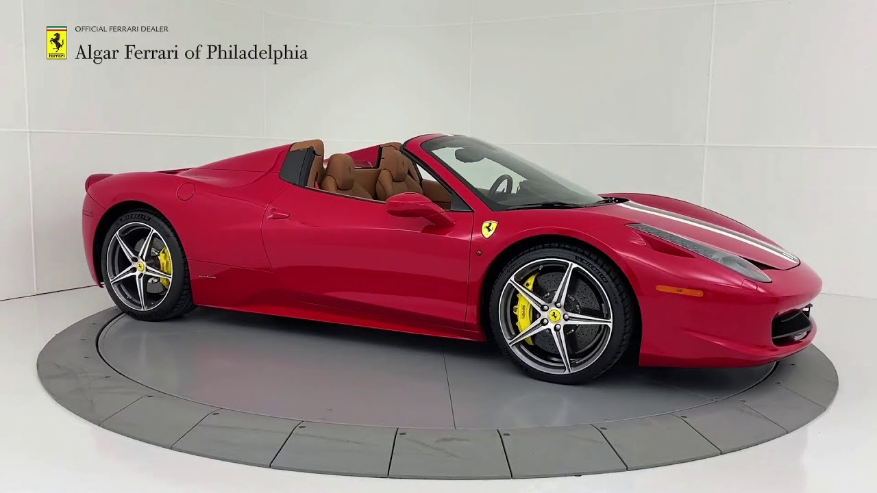 2014 Ferrari 458 Spider Algar Ferrari Of Philadelphia Youtube