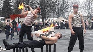 """Праздник """"Зимние забавы"""" в войсковой части 3214"""