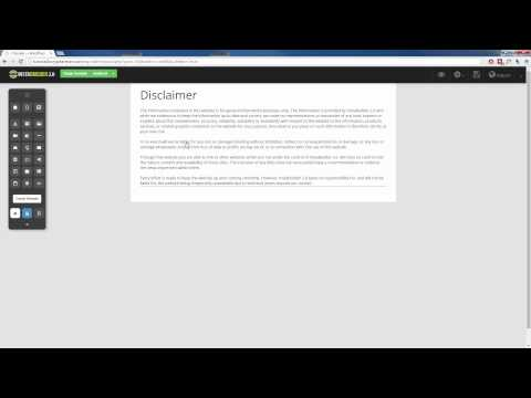 InstaBuilder 2.0 | How To Create Disclaimer, Privacy Policy, TOS Page