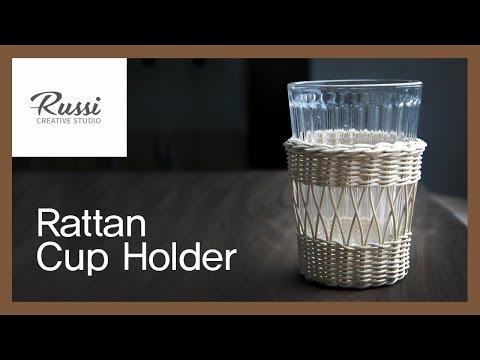 [라탄공예] 취미 수업 온라인클래스 7.  : 라탄 컵홀더 만들기 /Rattan Craft : Rattan Cup Holder / rattan class/이케아 컵홀더,DIY