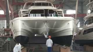 Aquila Power Catamarans - Sino Eagle Factory Tour