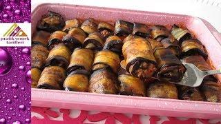 Patlıcan Sarma Kebap Tarifi / Pratik Yemek Tarifleri