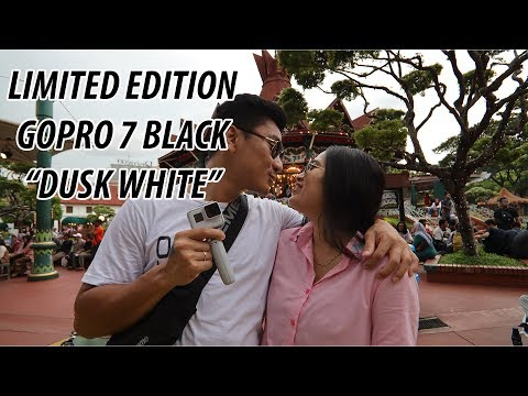 First Date At Dufan With Gopro Hero 7 Black Dusk White